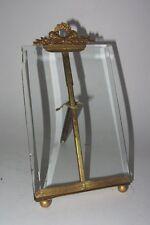 ANCIEN CADRE PORTE PHOTO VERRE BISEAUTE ANTIQUE french BEVELED GLASS FRAME
