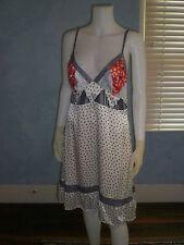 Mary Jane Polka Dot V-Neck Silk Multi-Colored Sundress Dress 46/6