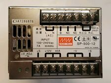 Mean Well SP-500-12 ,  AC to DC Power Supply