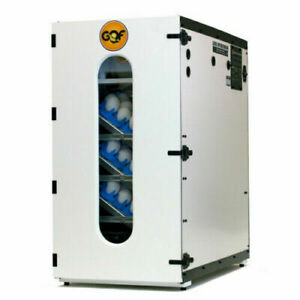 NEW GQF 1502 Incubator with Egg Trays and 3030 Water Reserve System Complete