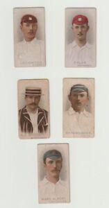 trade+cigarette cards 5num wills cricket