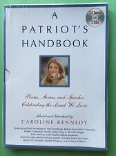 A Patriot's Handbook by Caroline Kennedy, SEALED Audiobook, 3 CDs, Hyperion 2003