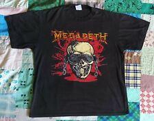 Vintage Megadeth Wake-Up Dead Tour T-Shirt 1987 Xl Metallica Thrash 80s
