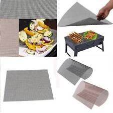 BBQ Grill Mesh Mat Reusable Teflon Sheet Resistant Non-Stick Barbecue Meat Tools