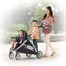 Chicco Bravo For2 Standing/Sitting Double Stroller, Iron, DAMAGED/OPENED BOX