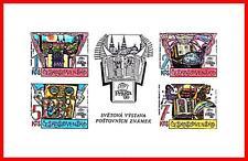 CZECHOSLOVAKIA 1988 STAMP SHOW S/S SC#2704 MNH ASTRONOMY, JUDAICA, BIBLE, CASTLE