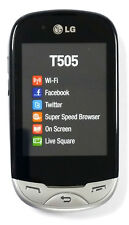 LG T505 UNLOCKED QUADBAND,CAMERA,BLUETOOTH,WIFI,FULL TOUCHSCREEN GSM CELL PHONE.