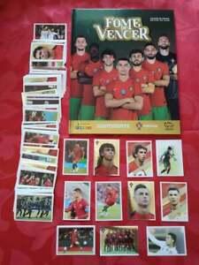 Panini Fome de Vencer 2021 Portugal Cristiano Ronaldo EURO 2020 FULL ALBUM SET⚽
