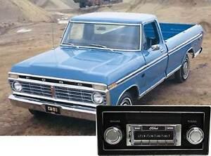 73-79 Ford Truck F Series AM FM Bluetooth New Stereo Radio iPod USB Aux 300 watt
