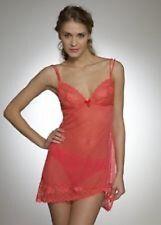 Pretty Pour Moi Red 'Destiny' Sexy Semi Sheer Lace Chemise -  XL suit size 14-16