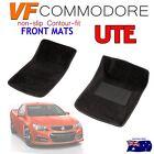 Holden VF Commodore Moulded 3D FRONT Car Floor Mats BLACK CARPET