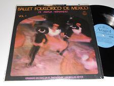 BALLET FOLKLORICO DE MEXICO VG++ Vol. 1 de Amalia Hernandez Angel SAM 35002