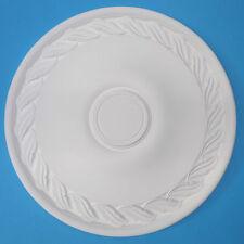 Ceiling ROSE forte resina Cellulare (non POLISTIROLO) - Lisa 400mm-leggero