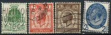 GB KGV 1929 SG#434-437 UPU Congress PUC Used Set Of 4 #D79536