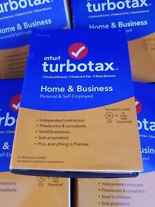 2019 Intuit TurboTax Home & Business Federal State FAST AUTHENTIC DOWNLOAD ONLY