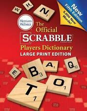 The Official Scrabble Players Dictionary, Fifth Edition (Paperback or Softback)