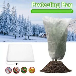 Agfabric Zipper Plant Cover Freeze Winter Protection Outdoor 1.5 Oz 120' x 120'