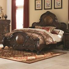 Coaster 204450Q Abigail Victorian Style Queen Size Bed Cherry Finish