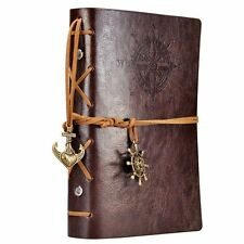 Leather Writing Journal Notebook Pad Nautical Geologists Treasure Hunters Diary