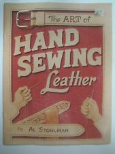 Vintage 1977 THE ART OF HAND SEWING LEATHER Booklet Book by Al Stohlman Tandy