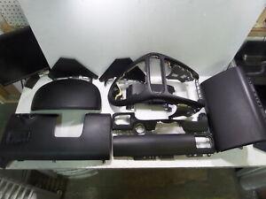 03-06 Porsche Cayenne 955 Black Leather Dash Kit Extended Leather Trim Glovebox