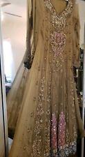 Mint Green Pishwas Anarkali Pakistani Wedding Party Wear not agha noor Maria B