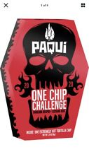 Paqui One Chip Challenge 2020 Gift Pack:  Chip, Headband And Towel Set
