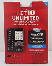 Samsung R451C Slider QWERTY - Net10 Prepaid Cell Phone - Black