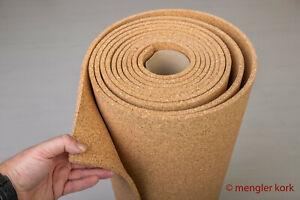 Kork Rollenkork Untertapete 3 mm 10 lfm/m² atmungsaktiv Wärme-Kälte-Schallschutz