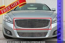 GTG, 2011 - 2013 VOLVO C70 1pc CHROME UPPER REPLACEMENT BILLET GRILLE KIT