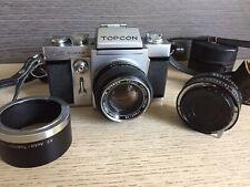 TOPCON RE SUPER FOTOCAMERA VINTAGE