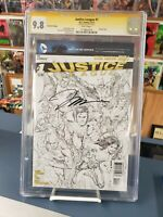 Justice League #1 New 52 CGC9.8 Signature Series Jim Lee