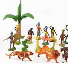 Figurines VILLAGE AFRICAIN / soldier antique toy clairet