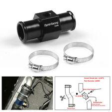 22mm Water Temp Temperature Joint Pipe Sensor Gauge Radiator Hose Adapter Black