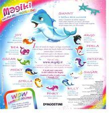 Magiki Delfini dell'Arcobaleno a Scelta - DeAgostini