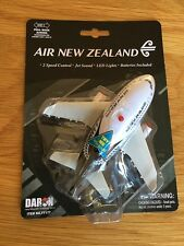 AIR NEW ZEALAND Fun Toy Pull Back Plane Airplane with Lights Jet Noise PLANE