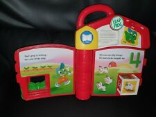 LeapFrog Baby Tad's Counting Farm Interactive Electronic Musical Story Book