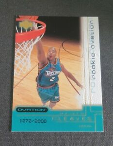 2000-01 Upper Deck Ovation #74 Mateen Cleaves RC SN 1272/2000 CHC