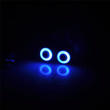 2 Leds Angel & Demon Eyes LED Headlight Bulb for 1/10 RC Car 5mm (blue+white)