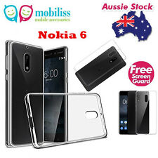 TPU Gel Jelly iSkin Case Cover for Nokia 6 - Ultra Clear