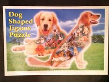 Konturenpuzzle Puzzle Hunde - TOP! Golden Retriver