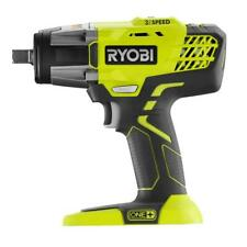 "NEW RYOBI ONE+ 18V 1/2"" 1/2 INCH 3 SPEED CORDLESS IMPACT WRENCH P261 - TOOL ONLY"