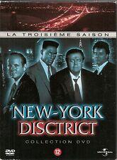 COFFRET 6 DVD ZONE 2--SERIE TV--NEW YORK DISCRICT - INTEGRALE SAISON 3