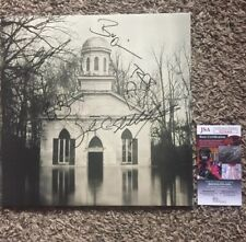 LUCERO SIGNED AUTOGRAPH AMONG THE GHOSTS VINYL LP BEN NICHOLS +4 JSA CERT COA