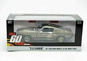 (NIB) Greenlight 1:24 Eleanor 1967 Ford Mustang Diecast Vehicle
