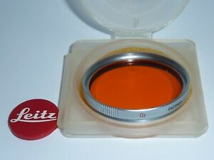Leica Leitz  Orange Or  E39  39mm