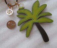Tory Burch Key Ring Purse Charm Palm Tree NEW