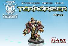 HiTech Miniatures: Terrorizer Skinner (28mm) Sci-Fi Chaos Space Marines