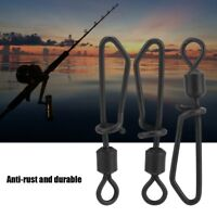 20Pcs Swivel Fishing Tackle Swivels And Snaps Rolling Swivels With T-shape Snap!