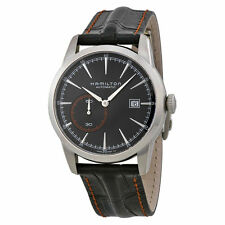 New Hamilton Classic Railroad Black Dial Mens Watch H40515731